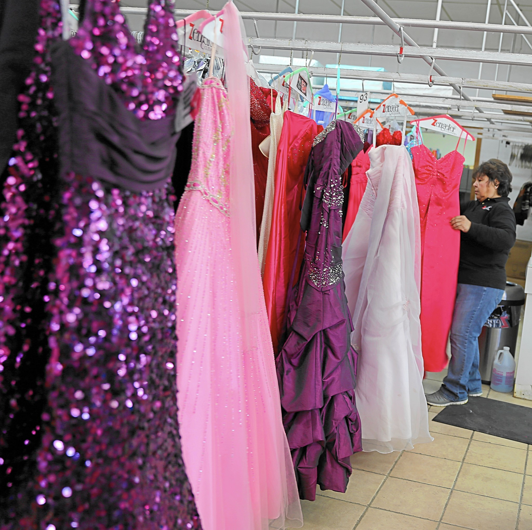 More than 5,000 prom dresses collected by local dry cleaners ...