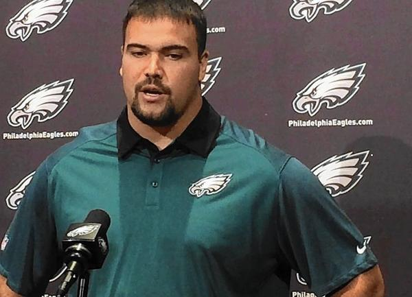 Stefen Wisniewski glad to be with Eagles after signing 1-year deal