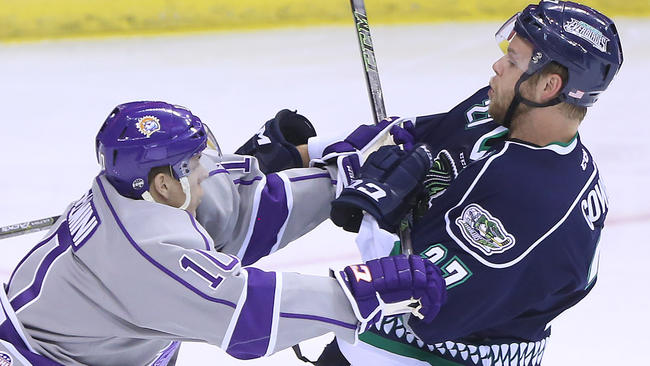 ECHL: Solar Bears' Playoff Chances Fade With 3-1 Loss To Everblades