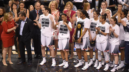 UConn wins 11th national title, defeats Syracuse for fourth straight championship