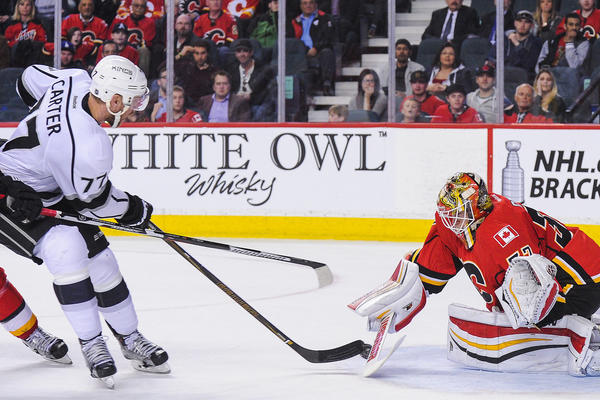Jeff Carter Makes A Good Read And Delivers In Kings' 5-4 Win Over The Flames
