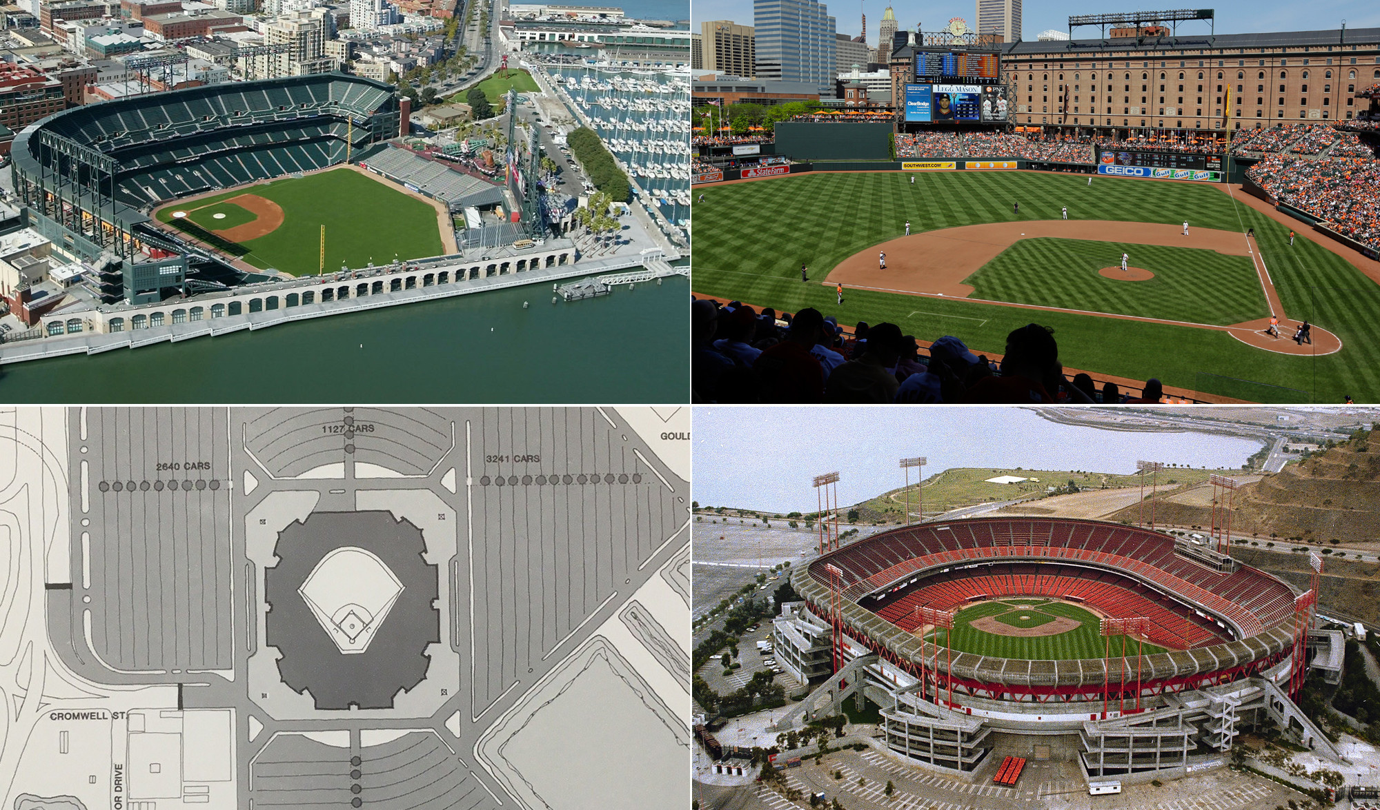 why baltimore opted not to build a waterfront stadium for the