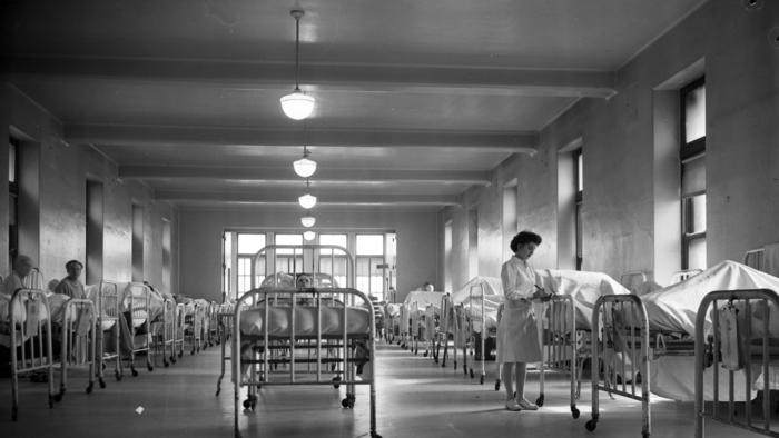 Then and now: Cook County Hospital