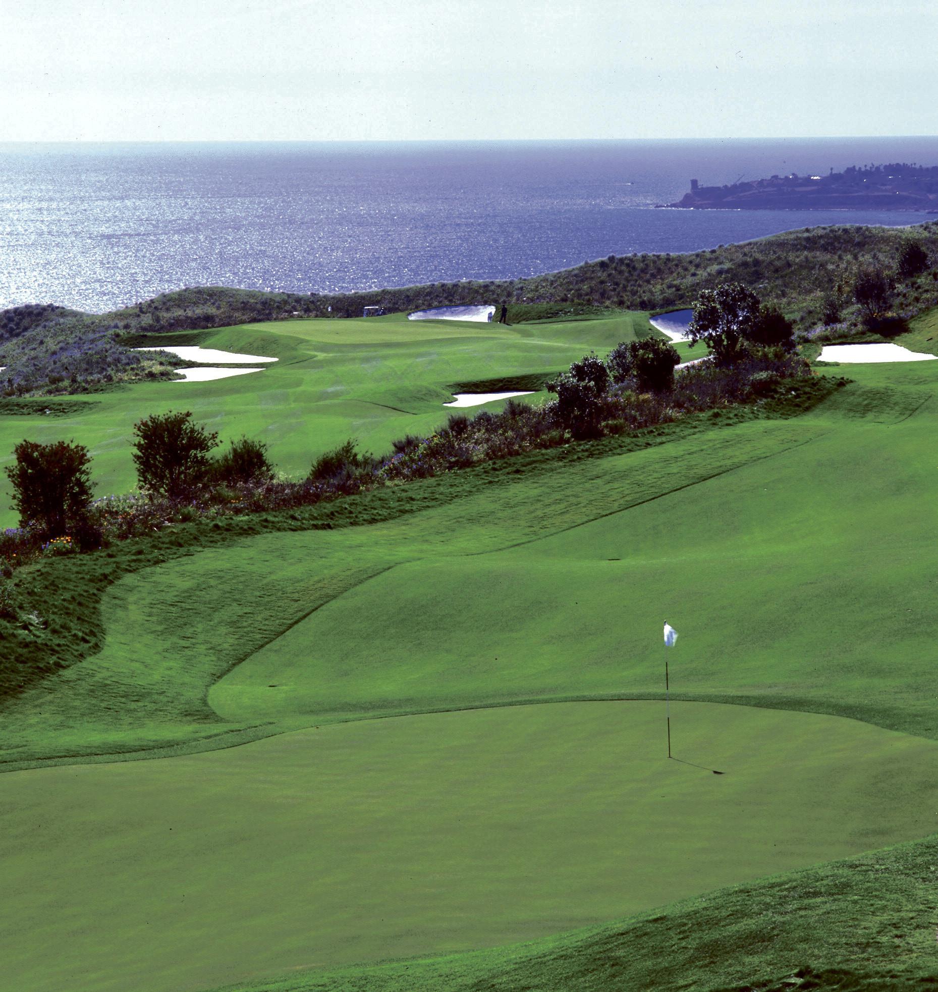 when donald trump bought a golf course in palos verdes la times