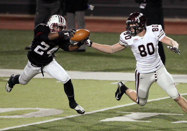 Lafayette's Matt Smalley works out for Eagles at local pro day