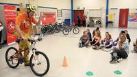Bike groups' safety program to reach 26 elementary schools