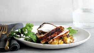 Tikka masala roast chicken