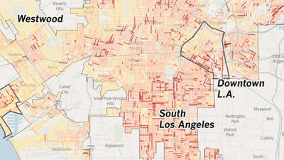 Where are L.A.'s dirtiest streets?