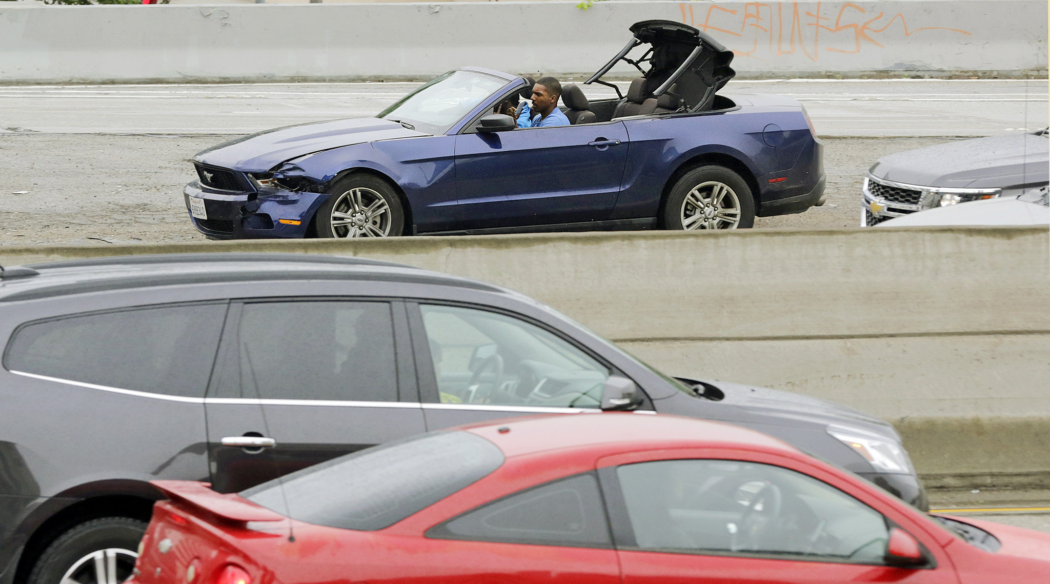 Epic L.A. car chase led by man trained to drive by U.S. military