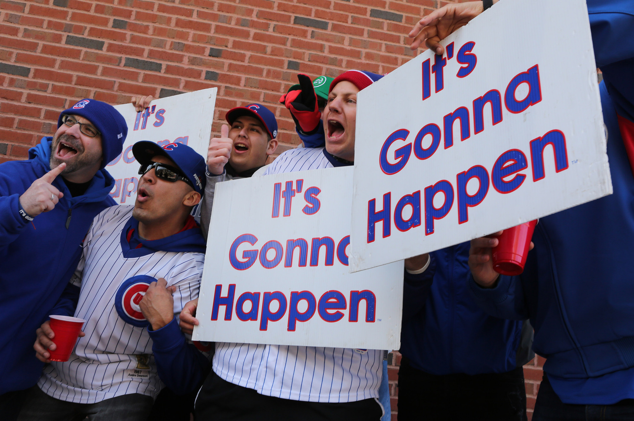 Cubs fans exuberant but cautious at home opener - Chicago ...