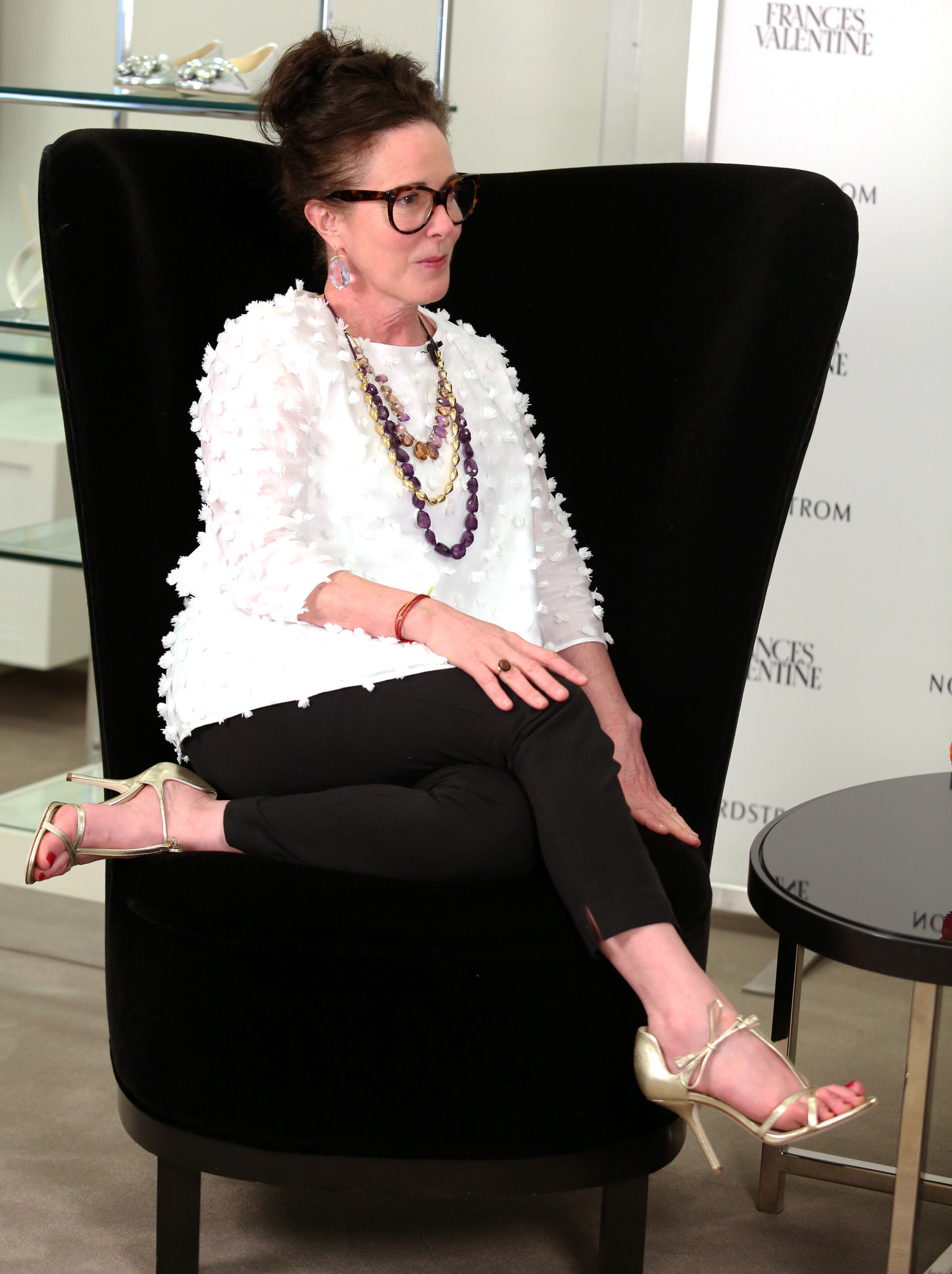 Designer Kate Spade Launches New Frances Valentine Line In
