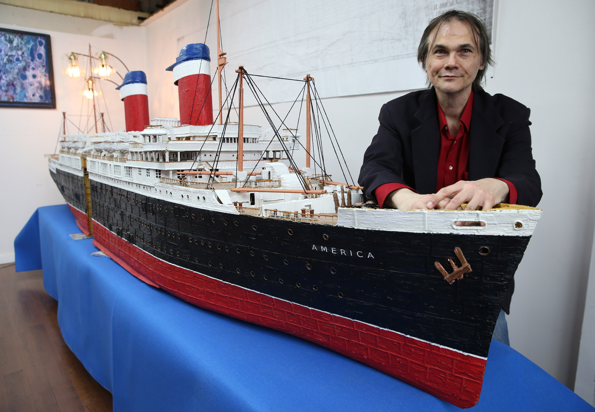 This Model Ship Took 270,000 Toothpicks, 5 Years To Make  Chicago Tribune