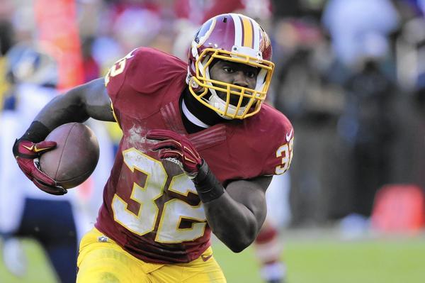 Redskins running back Silas Redd suspended by NFL for drug violation