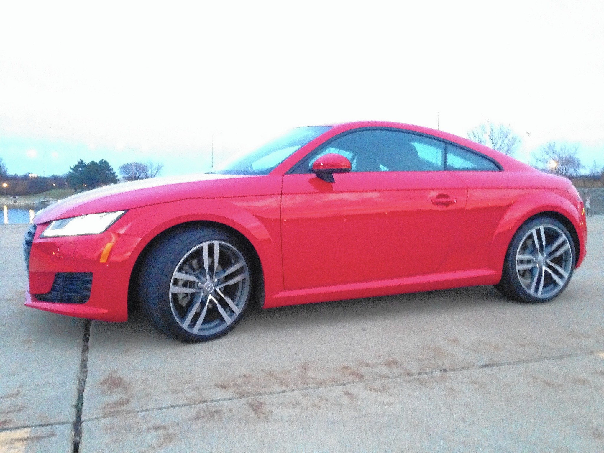 2016 Audi TT Is A Cute Coupe With More Style Than Power   Chicago Tribune