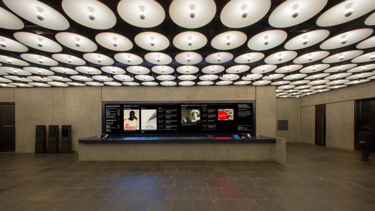 The Met Breuer lobby