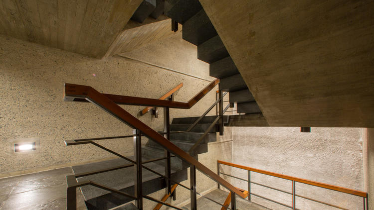 The Met Breuer staircase