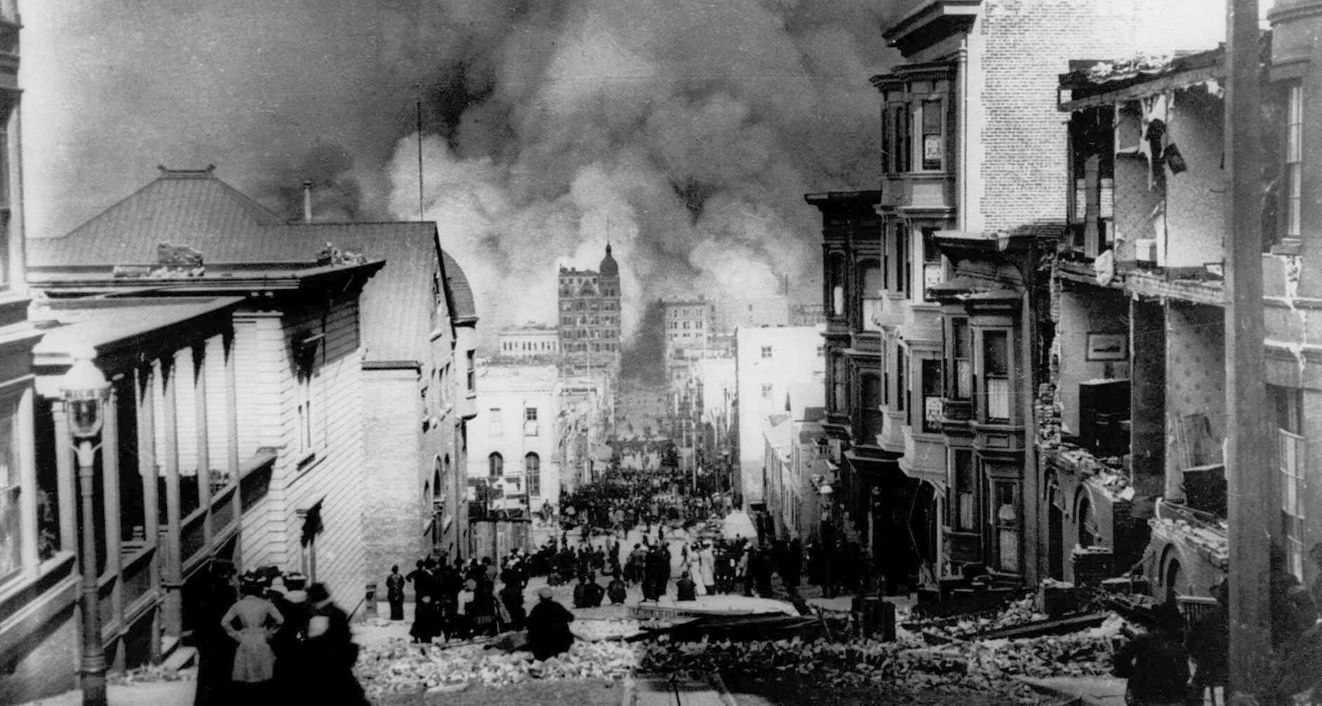 110 years ago: Images from San Francisco's devastating 1906 earthquake - LA Times