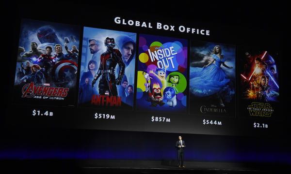 Disney had a great year at the box office in 2015. (Chris Pizzello / Invision / Associated Press)