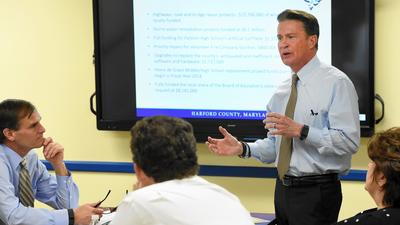Harford's Glassman's $735.2 million FY17 budget funds 3 percent merit raises, road repairs