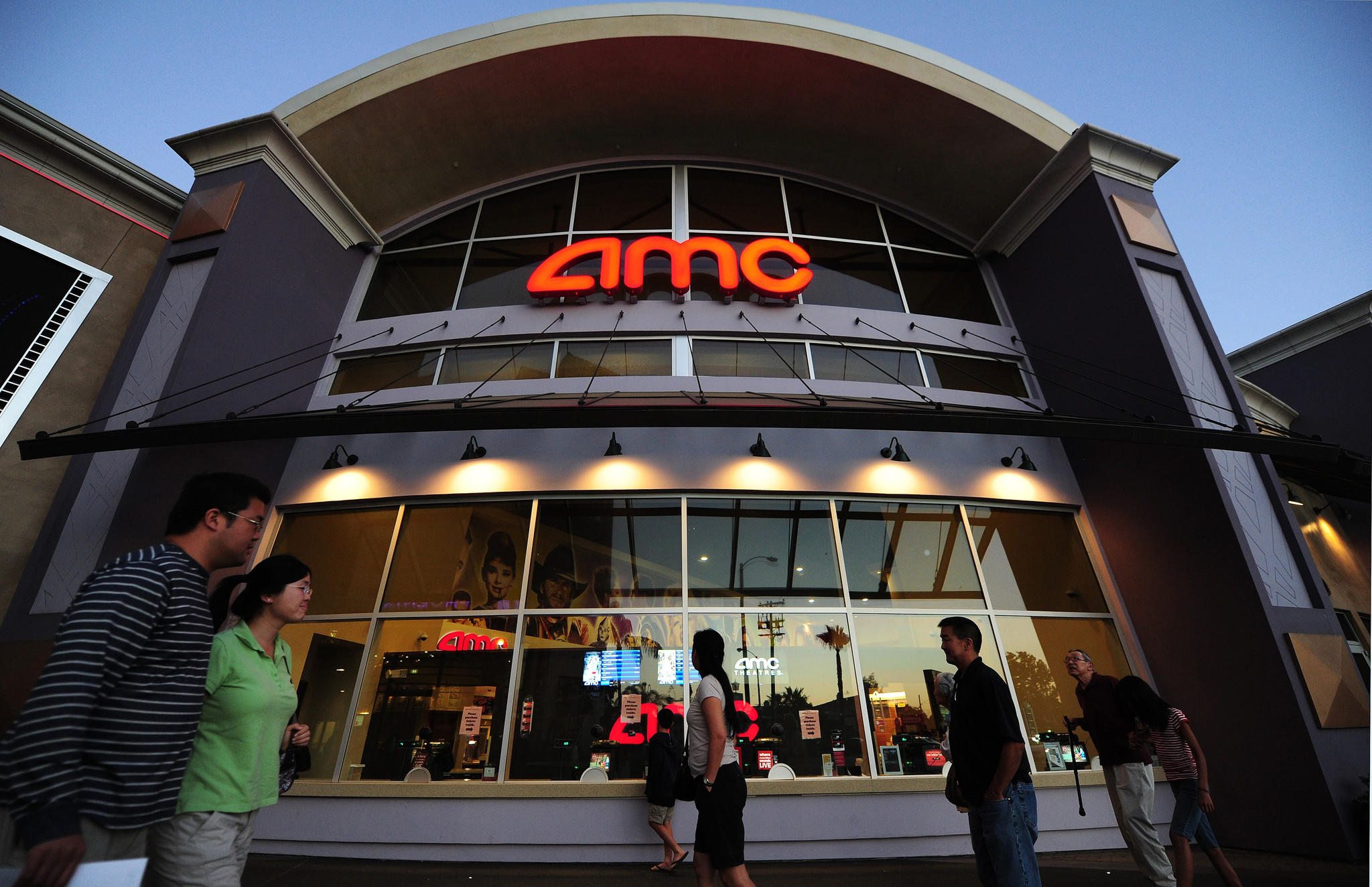 There's a lot of interest these days in whether millennials will be as interested in going to movie theaters as baby boomers have been, says Adam Aron, CEO of AMC Entertainment. (Frederic J. Brown / AFP/Getty Images)