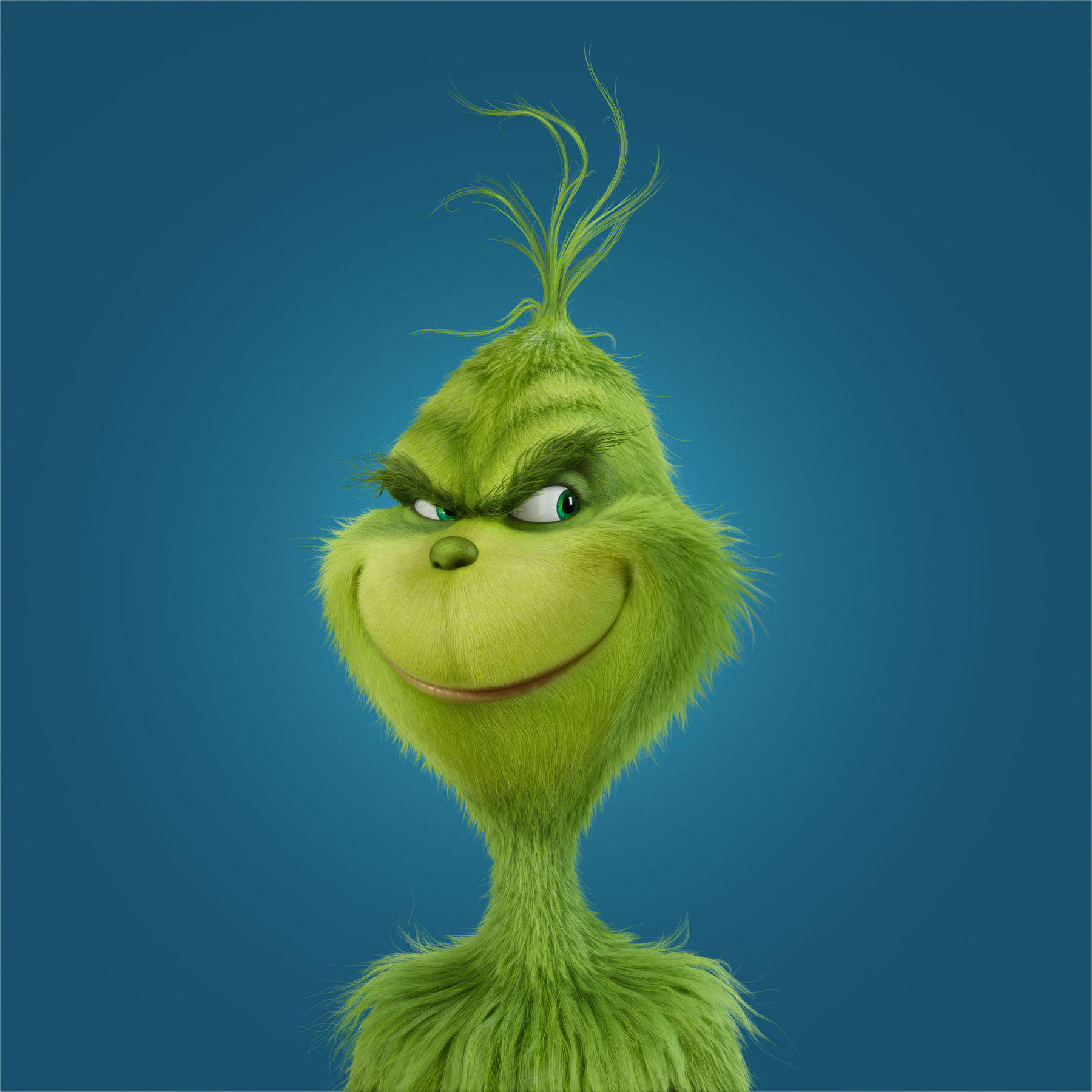 "The Grinch in Illumination Entertainment and Universal Pictures' Dr. Seuss' ""How the Grinch Stole Christmas."" (Meredith Woerner)"