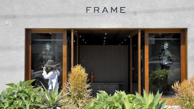 frame opens its first store on melrose place