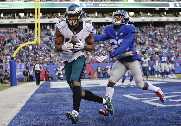 Coaches' playing experience resonates with Eagles' Jordan Matthews