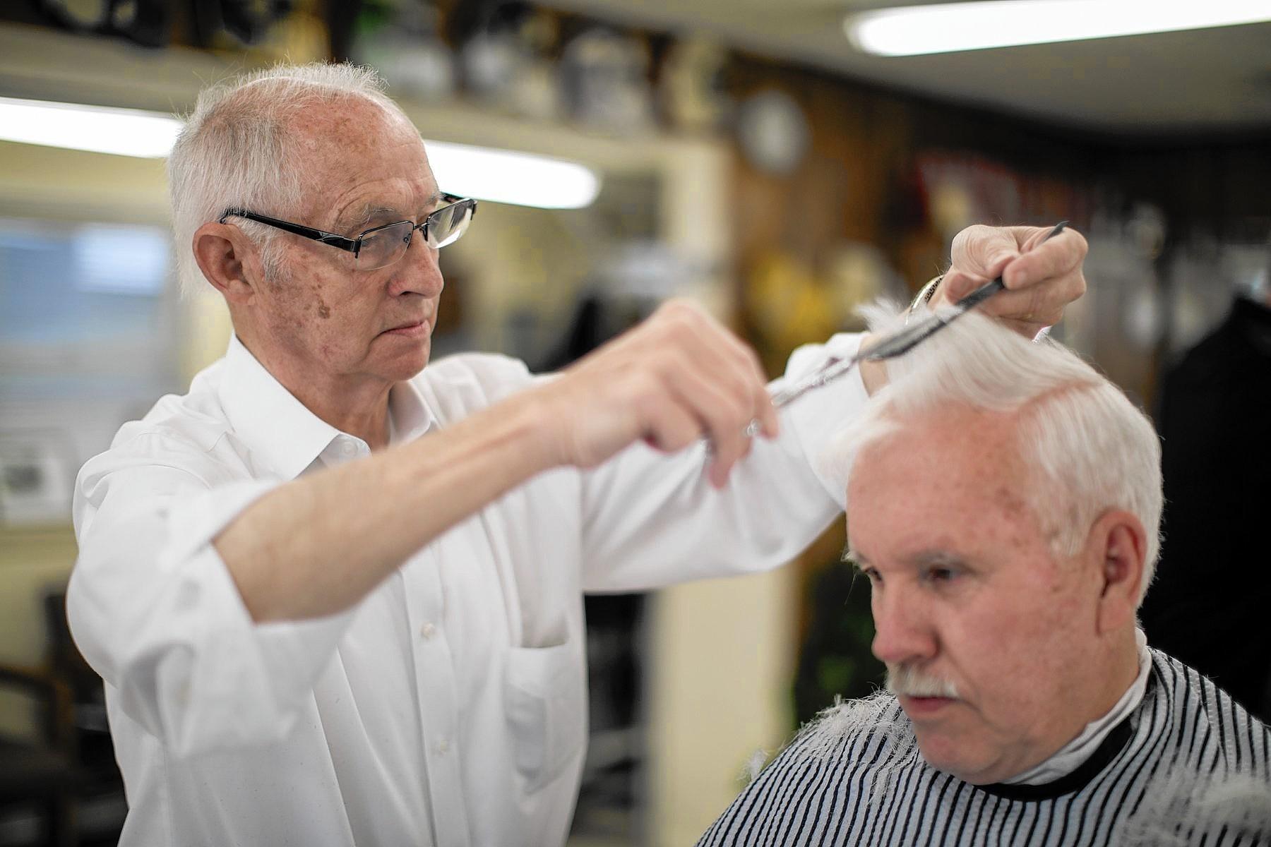 Slyes Barbershop Stays Old School In Old Town Laurel Laurel