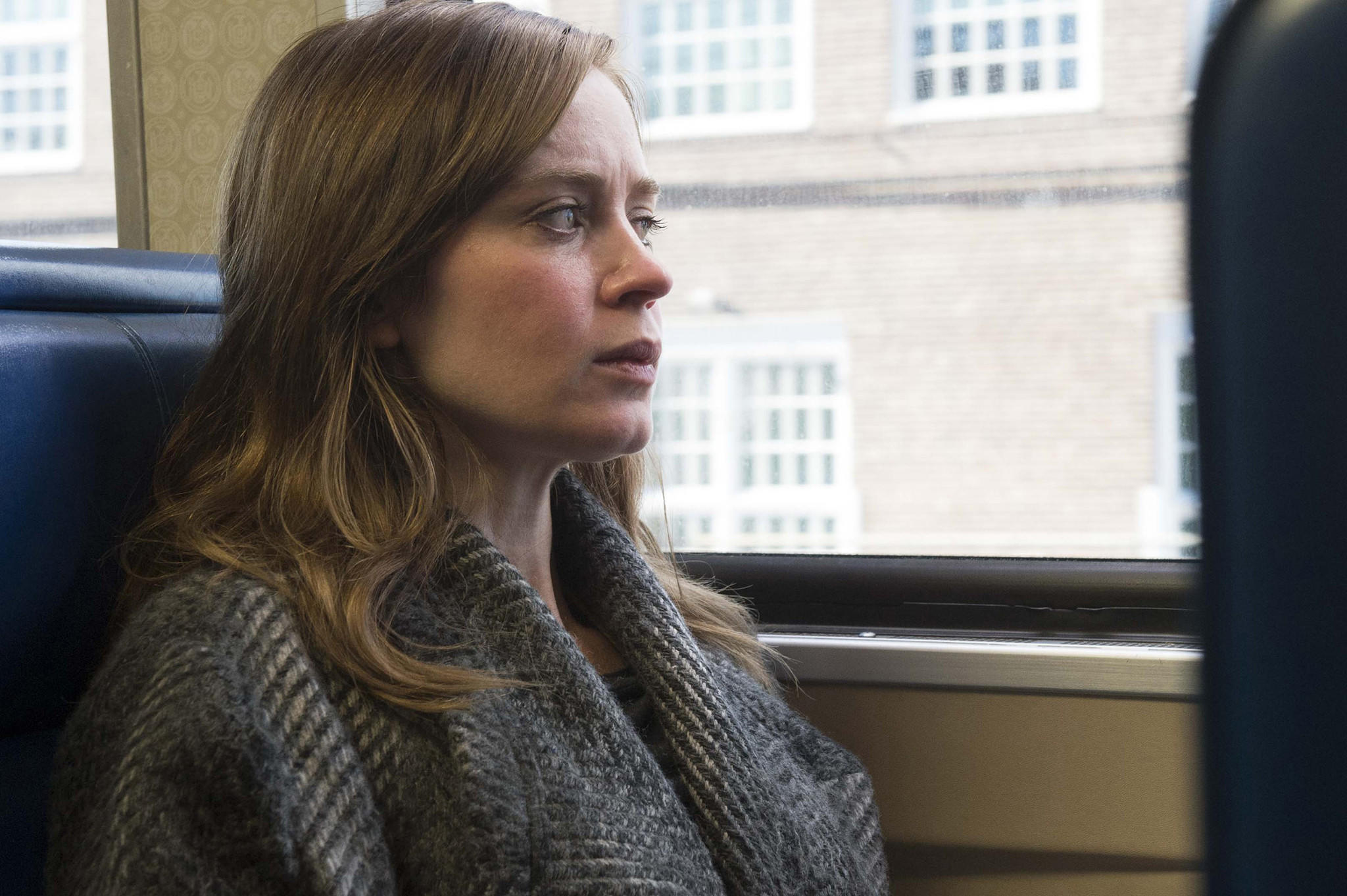 "Emily Blunt in ""The Girl on the Train."" (Barry Wetcher / Universal Pictures)"