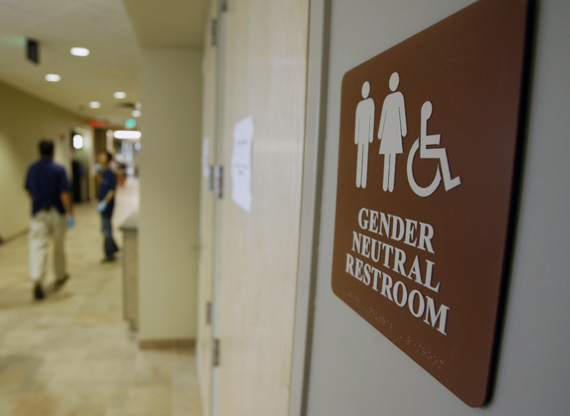 Bathroom Sign Memes how to stamp out the transgender 'bathroom panic' - la times