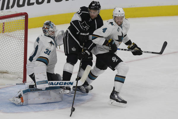 What We Learned From The Kings' Loss To The Sharks In Game 1 Of Western Conference First Round