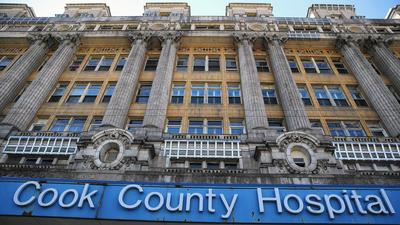 Cleanup, land purchase may boost Cook County Hospital redevelopment cost