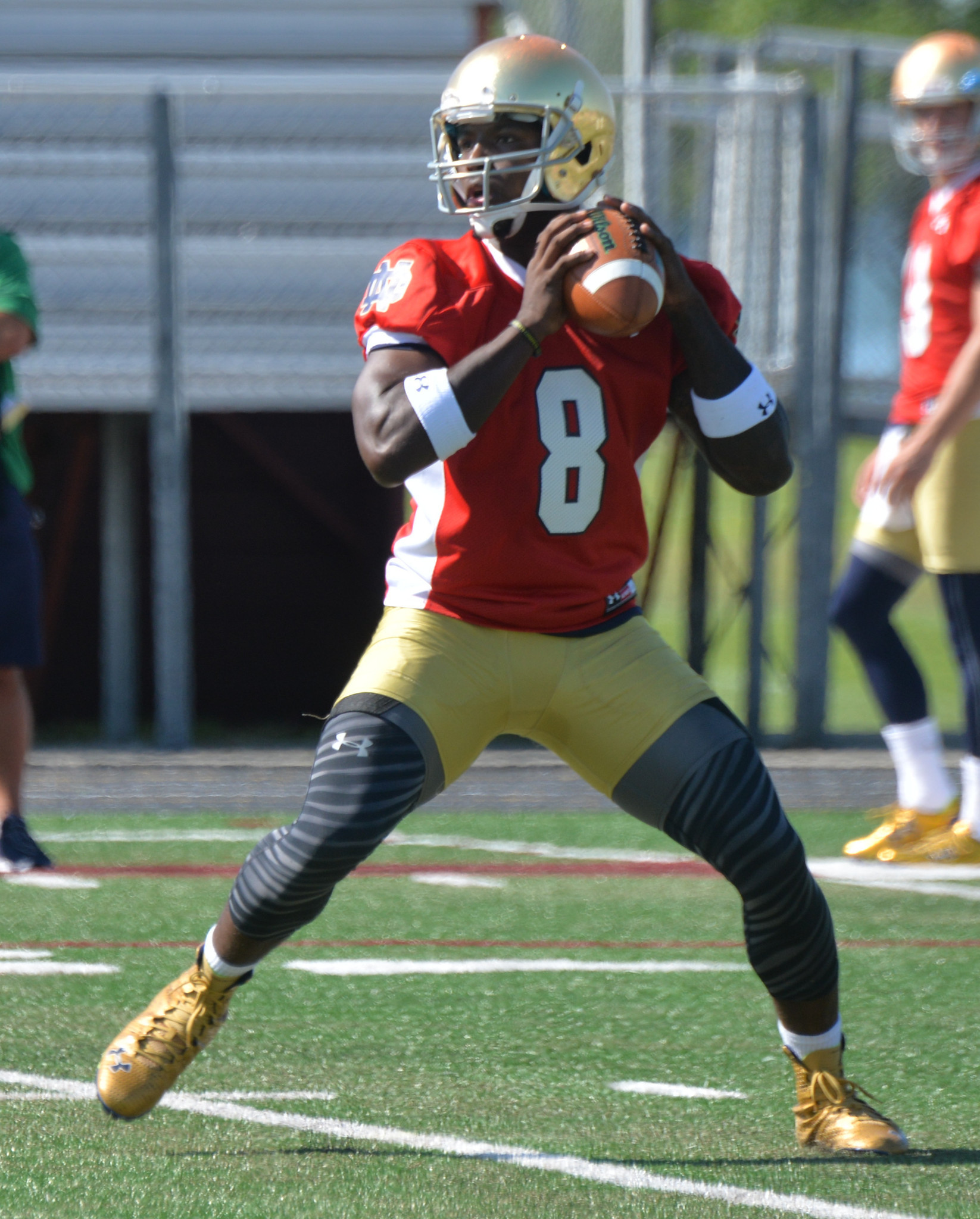 Ct-notre-dame-quarterbacks-blue-gold-spt-0416-20160415