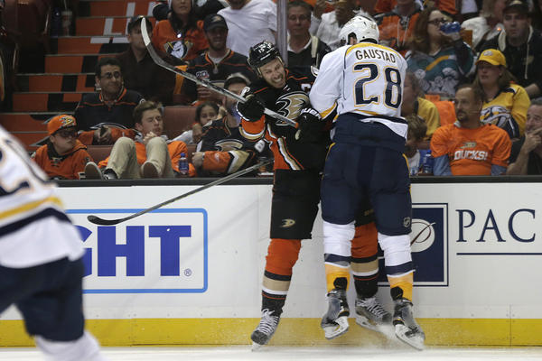 What We Learned From The Ducks' 3-2 Loss To The Predators In Game 1 Of First-round Playoffs