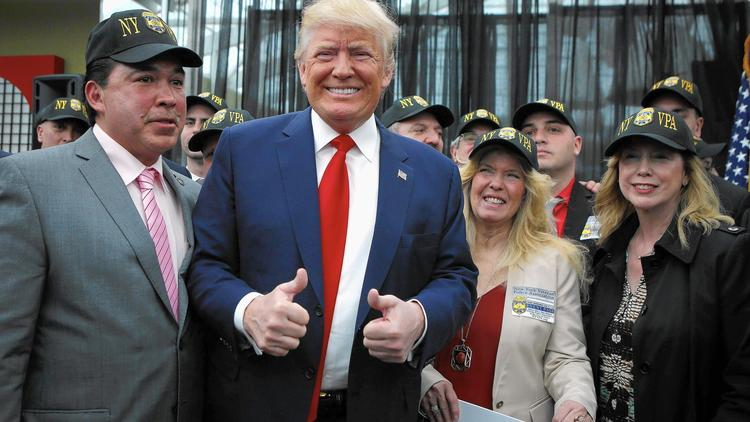 Donald Trump campaigns in Staten Island, N.Y. (Kena Betancur / AFP/Getty Images)