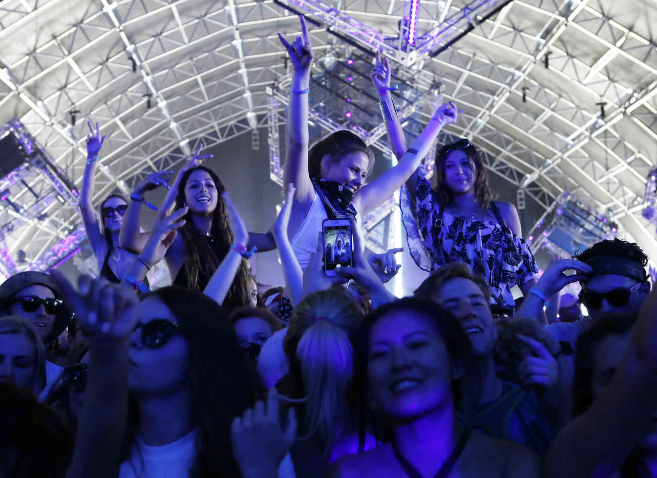 Coachella in 2016. (Katie Falkenberg / Los Angeles Times)