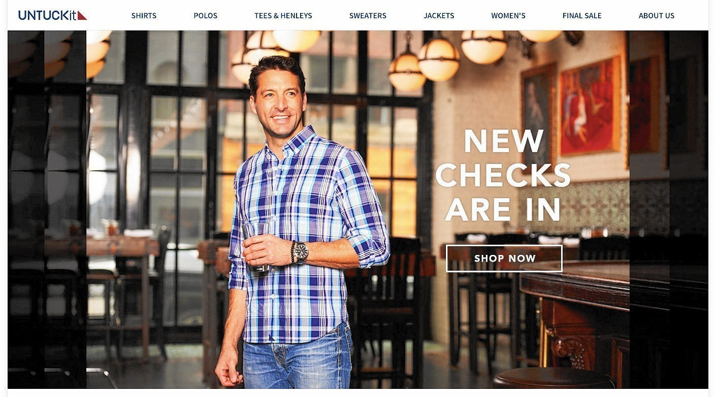 Untuckit Opening Michigan Avenue Location The Morning Call