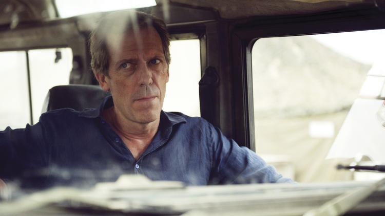 """Hugh Laurie as Richard Onslow Roper in """"The Night Manager."""" (Des Willie / Ink Factory / AMC Network)"""