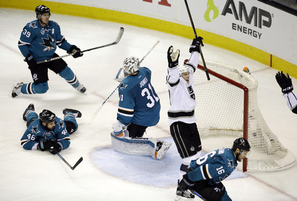 Tanner Pearson's Overtime Goal Gives Kings A 2-1 Win And New Life In Playoff Series Against Sharks