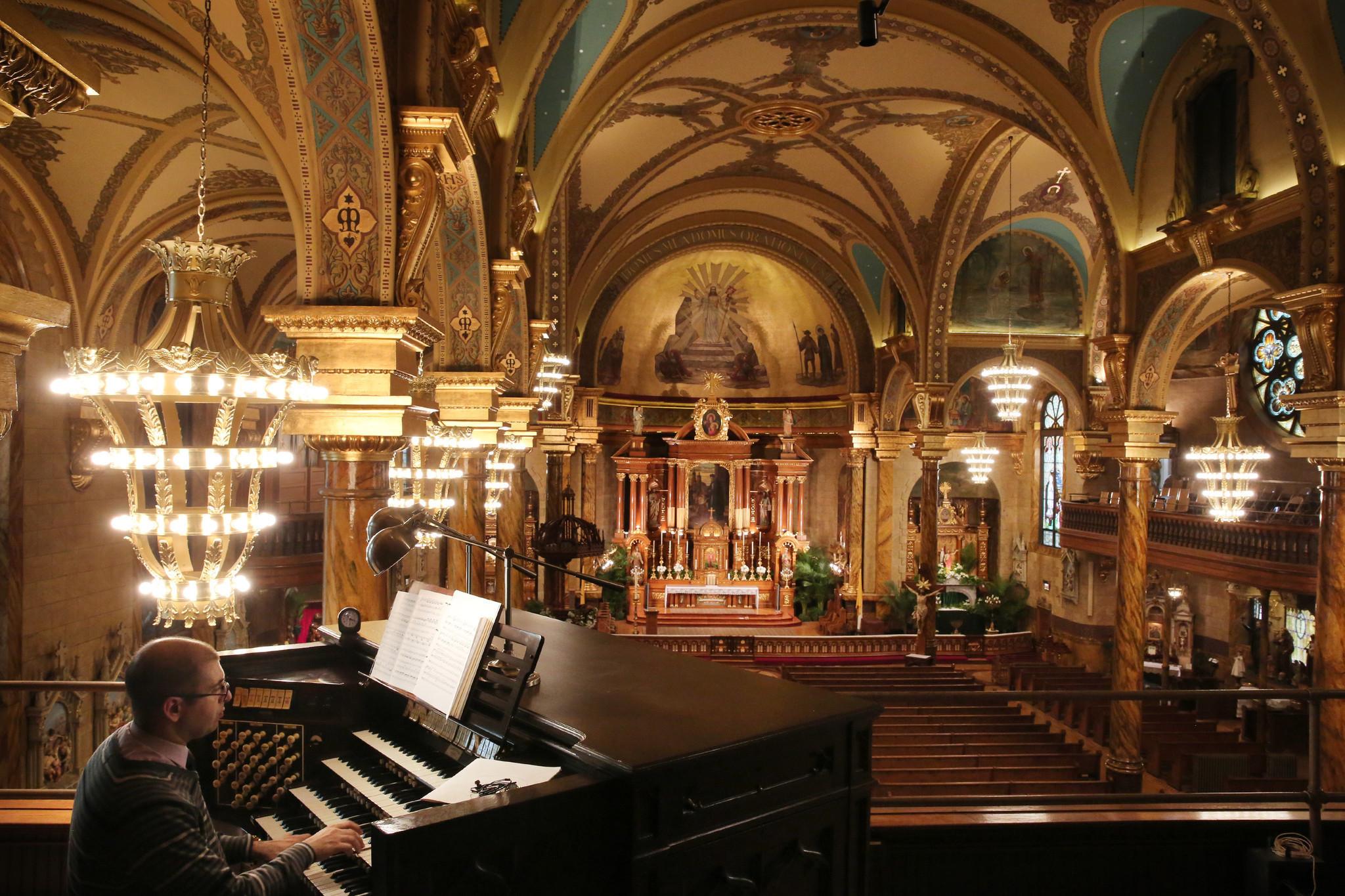 St John Cantius Most Beautiful Catholic Church Chicago