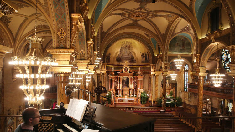 St. John Cantius, most beautiful Catholic Church