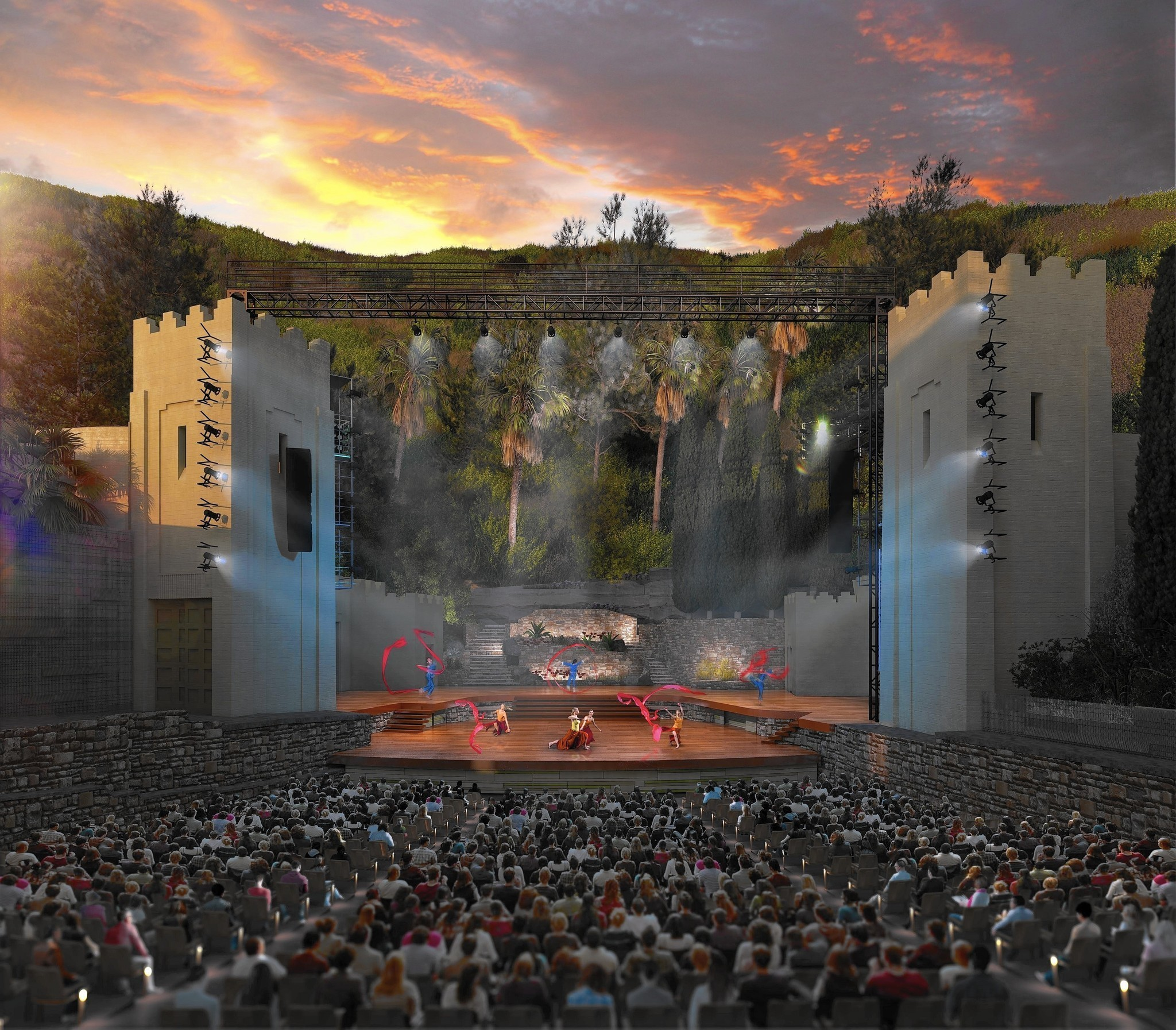 John anson ford theatres will reopen in july with historic outdoor venue refurbished la times