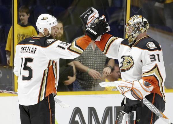 Frederik Andersen And Ducks Win The Head Games In 3-0 Victory Over Predators In Game 3