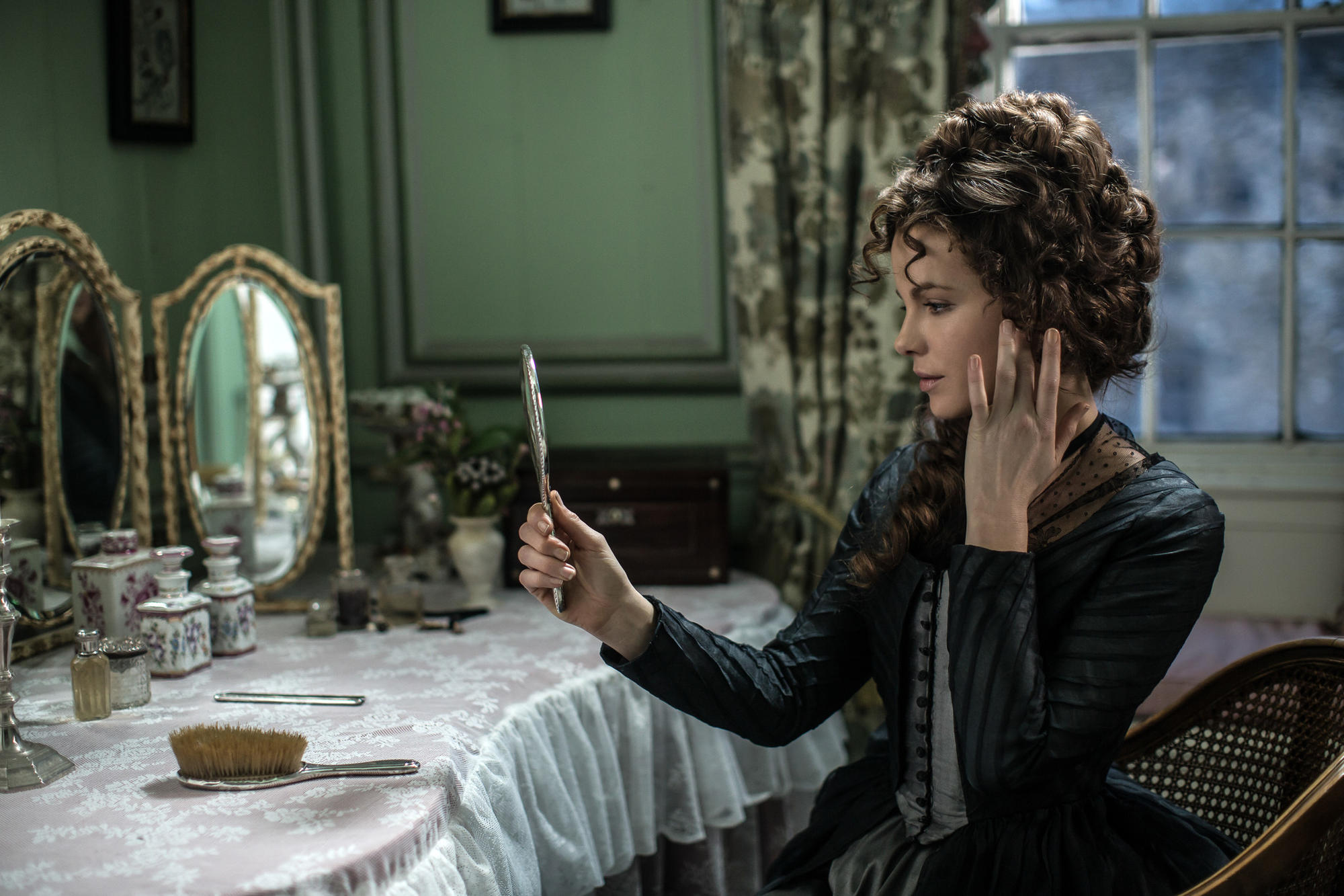 "Kate Beckinsale in ""Love & Friendship."""