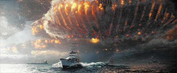 "Global spectacle on an unimaginable scale in ""Independence Day 2: Resurgence."""