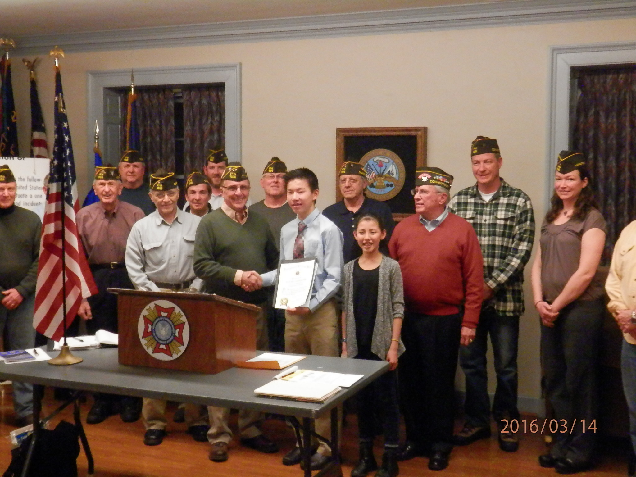 connecticut vfw voice of democracy finalist daniel coppinger connecticut vfw voice of democracy finalist daniel coppinger honored by simsbury veterans of foreign wars post 1926 community