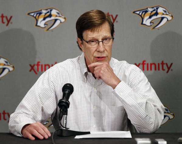 Nashville GM David Poile Has Transformed Predators, And It's All About Preparation