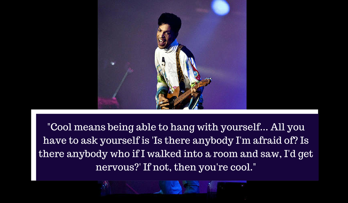 Being Different Quotes Memorable Prince quote...