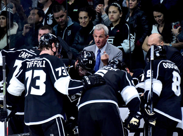 With Los Angeles Kings On Brink Of Playoff Elimination, Coach Darryl Sutter Criticizes Officiating
