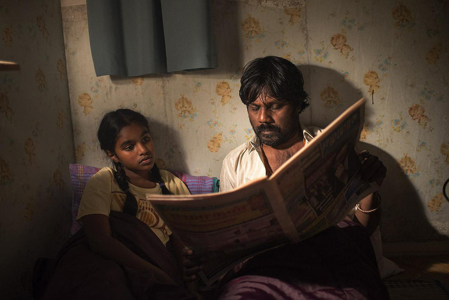 "Jesuthasan Antonythasan, right, as Dheepan in ""Dheepan."""
